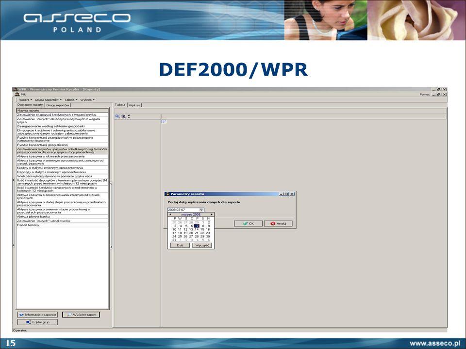 15 DEF2000/WPR