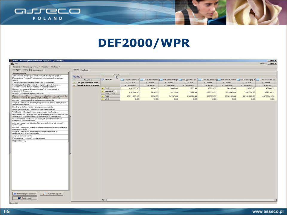 16 DEF2000/WPR