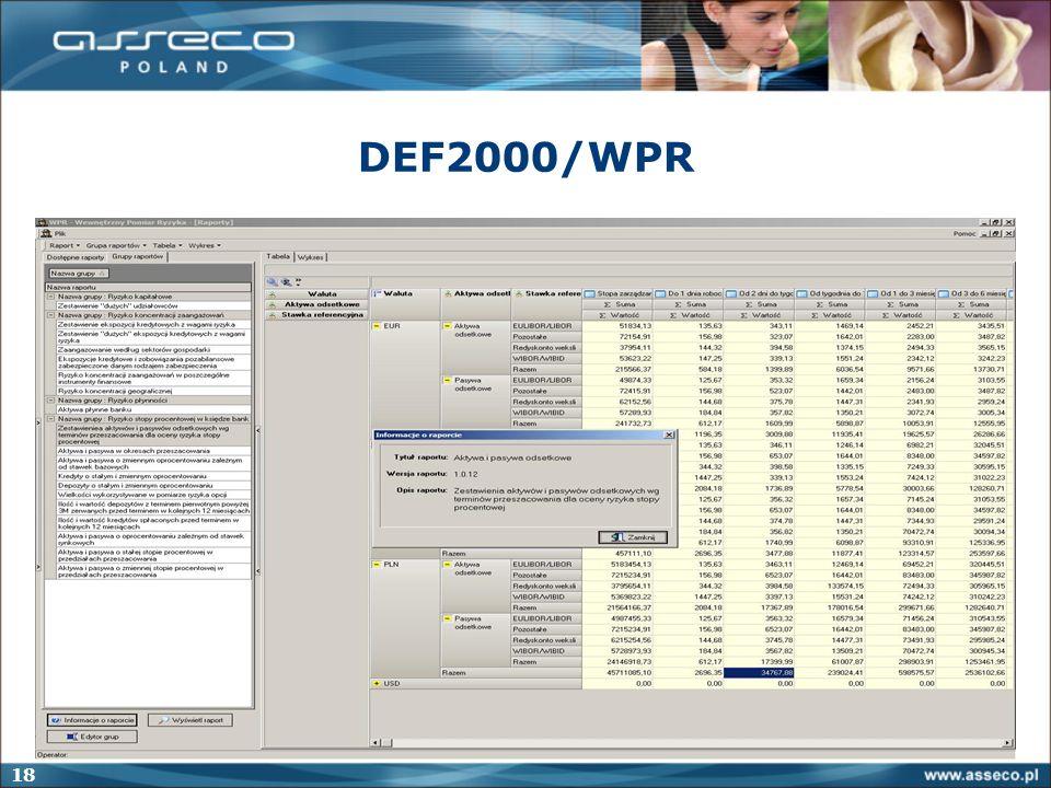 18 DEF2000/WPR