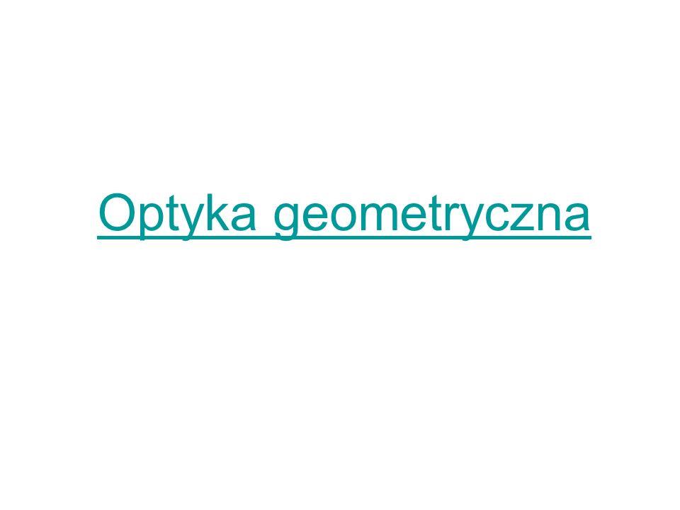 Optyka geometryczna