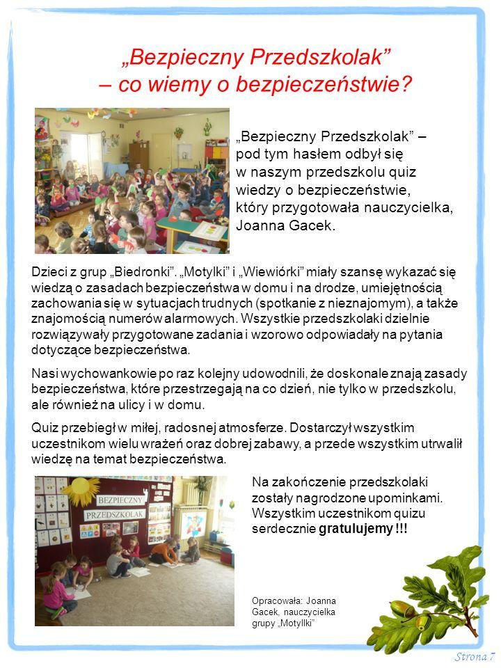 Strona 18 Ż EGNAJCIE STARSZAKI !!.W upalny czwartek 20.06.2013 r.