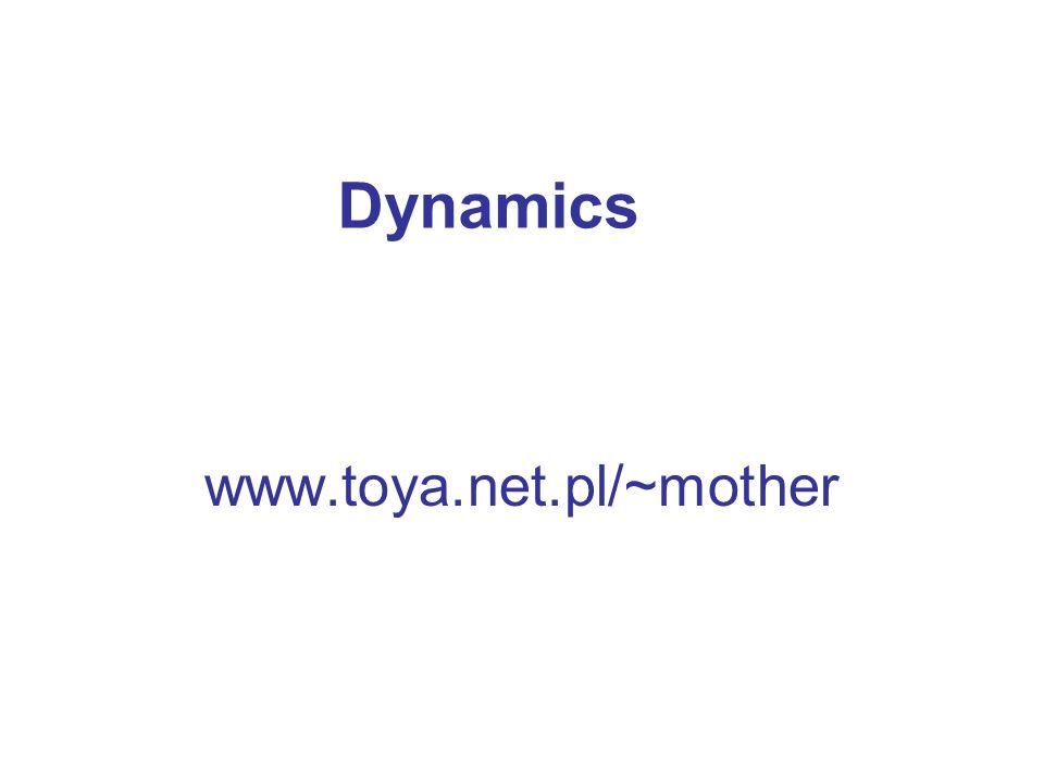 Dynamics www.toya.net.pl/~mother