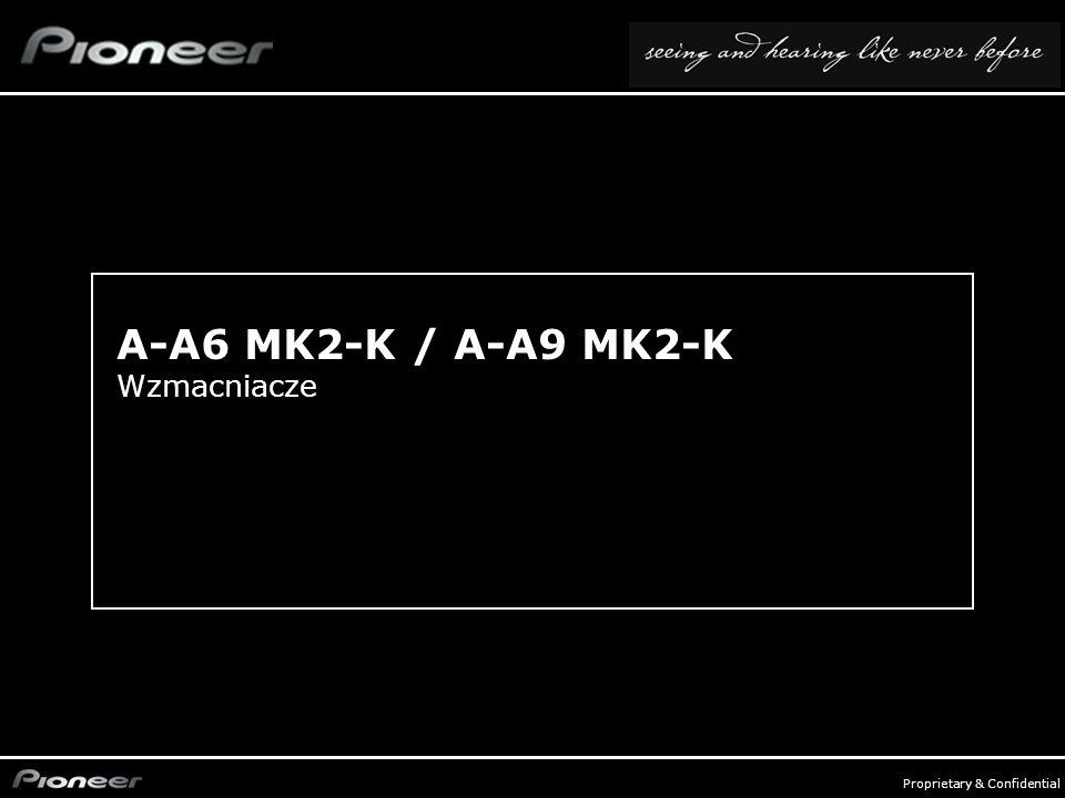 FY0809_Audio Compo - p. 10 Proprietary & Confidential A-A6 MK2-K / A-A9 MK2-K Wzmacniacze