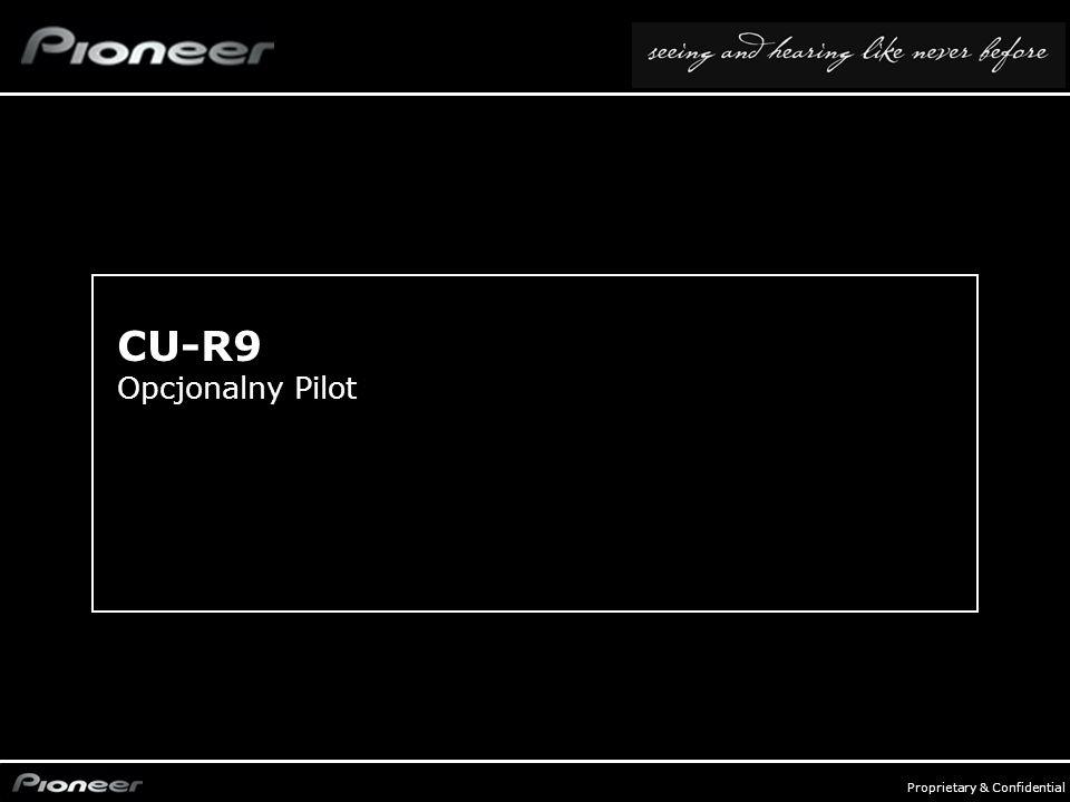 FY0809_Audio Compo - p. 22 Proprietary & Confidential CU-R9 Opcjonalny Pilot