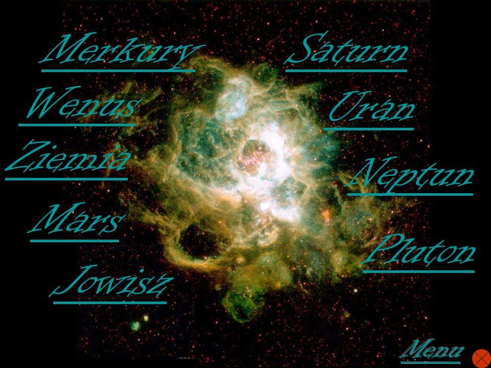 Merkury Wenus Ziemia Mars Jowisz Saturn Uran Neptun Pluton