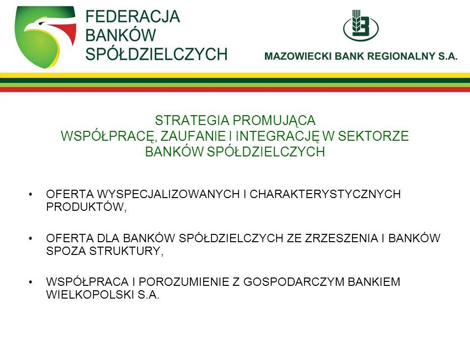POTENCJAŁ ZRZESZENIA MAZOWIECKIEGO BANKU REGIONALNEGO S.A.