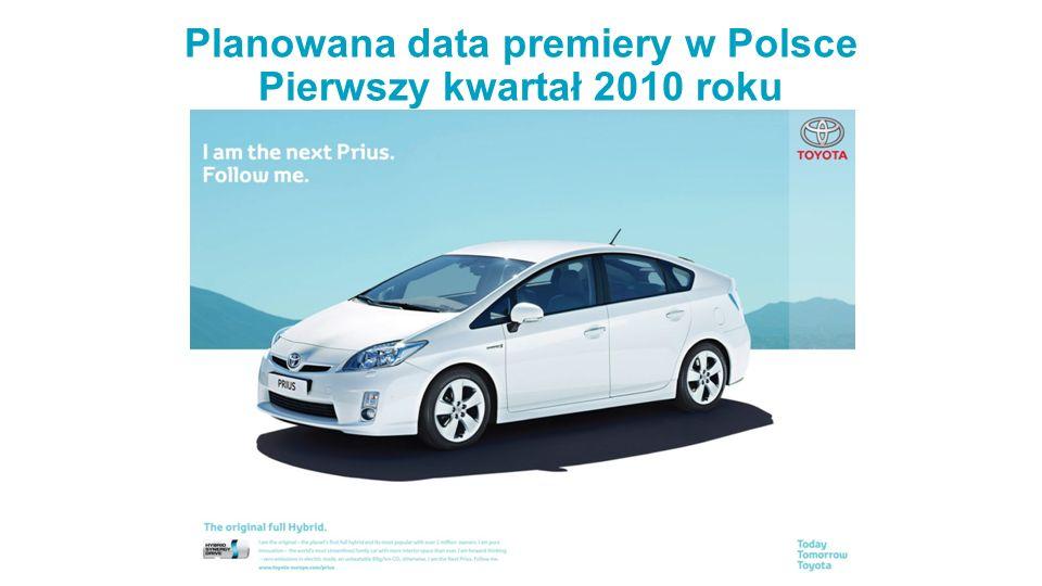 Planowana data premiery w Polsce Pierwszy kwartał 2010 roku