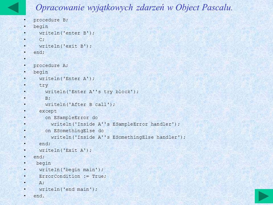 Wprowadzanie grafiki w Delphi W bibliotece VCL Delphi są następne komponenty dla wprowadzania grafiki - TImage (TDBImage), TShape, TBevel.