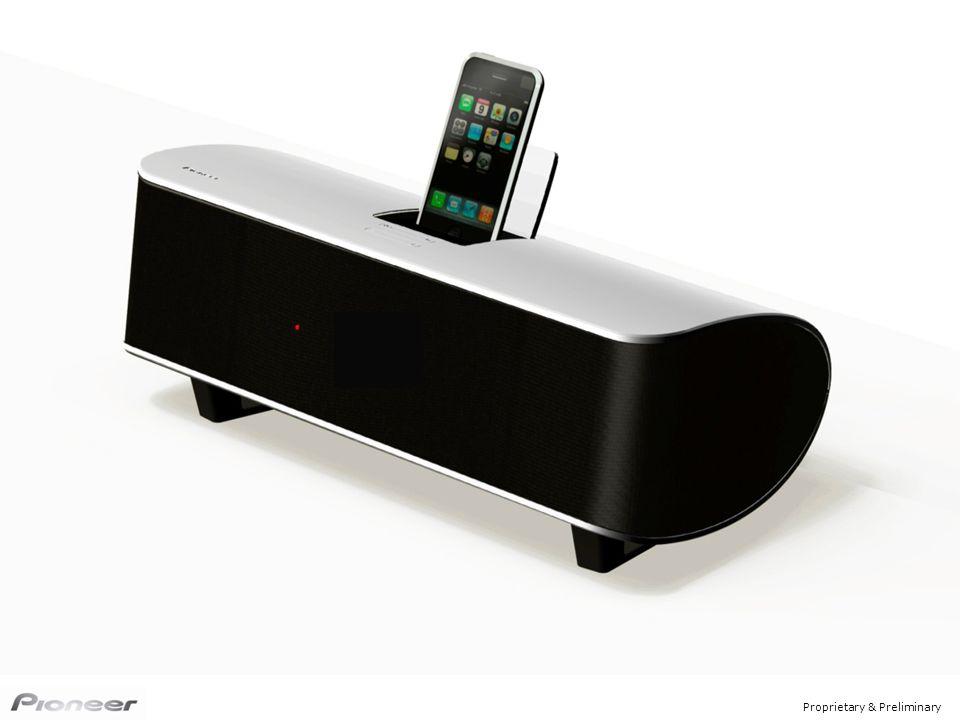 Właściwości Wygląd Cyfrowy dźwięk Zegar z funkcją alarmu (iPod/FM/Beep) Radio FM Odzyskiwanie dźwieku Wyjście component Estetyczny wygląd 4 kolory obudowy Bezprzewodowa muzyka Cyfrowa transmisja przez Bluetooth (z komputera lub telefonu komórkowego) Opcja: AS-BT100 iPod Digital: pierwszy w kategorii produktowej Cyfrowy wzmacniacz 2.1+DSP Subwoofer w technologii Down-firing XW-NAS5