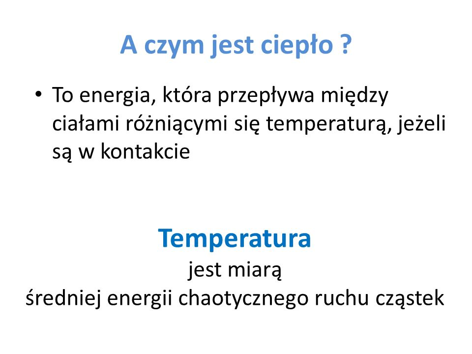 Heat energy transfer
