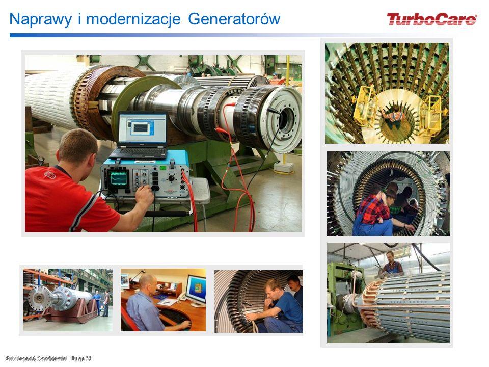 Privileged & Confidential – Page 32 Privileged & Confidential - Page 32 Naprawy i modernizacje Generatorów