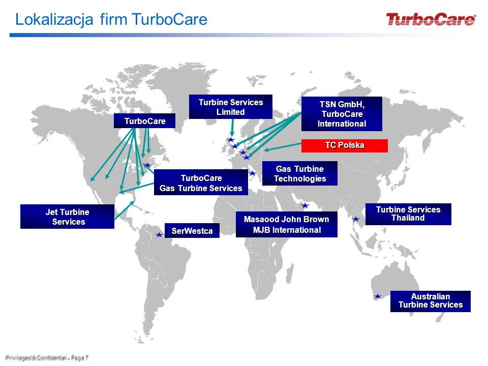 Privileged & Confidential – Page 28 Technologia spawania wirników TurboCare TurboCare wykonał ponad 600 napraw wirników prezentowaną technologią spawania