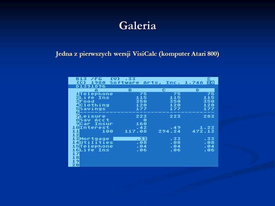Galeria Twórcy pierwszego arkusza kalkulacyjnego i ich dziecko w wersji na IBM PC
