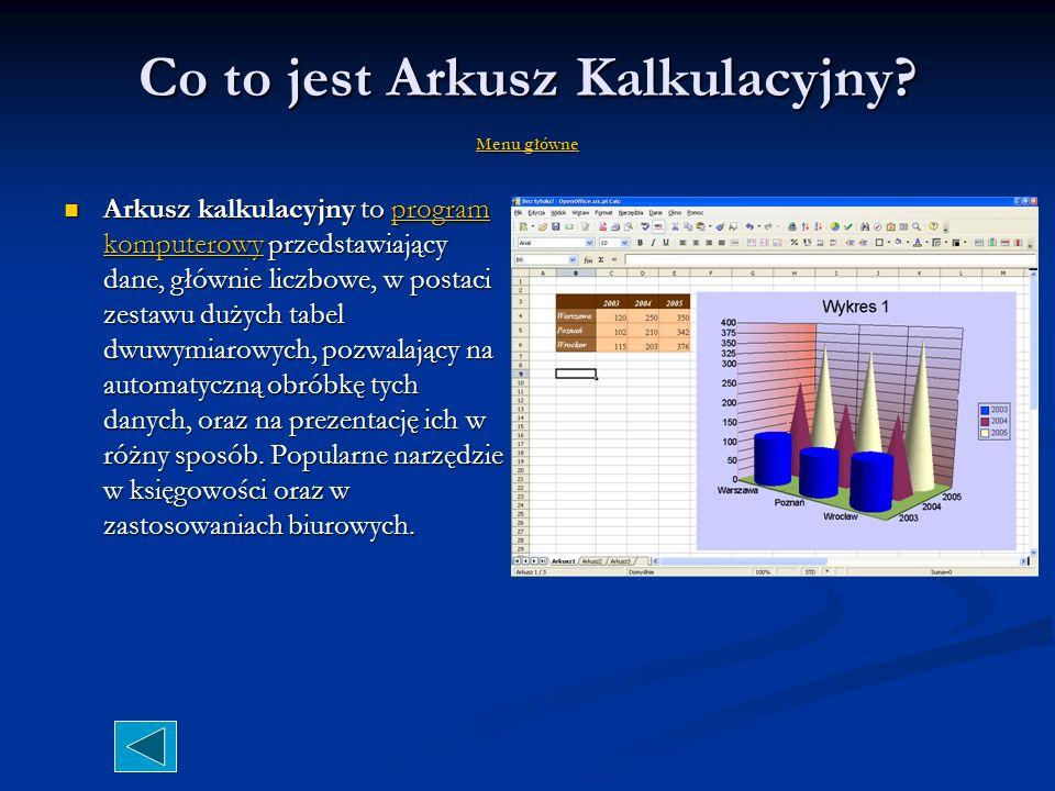 Excel znaczy przewyższać cd.
