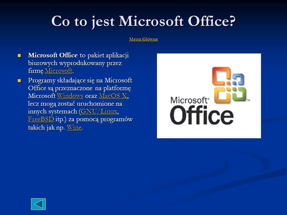 Coś na temat Microsoft Corporation Menu Główne Menu Główne Menu Główne XXI wieku jest największą na świecie firmą branży komputerowej. Najbardziej zna