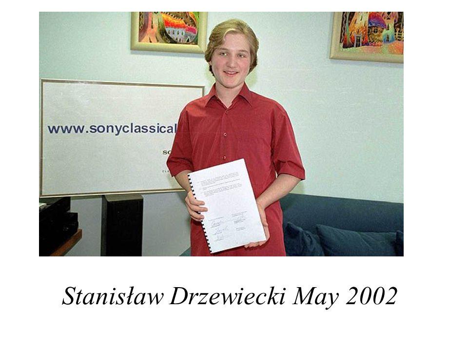 Stanisław Drzewiecki May 2002