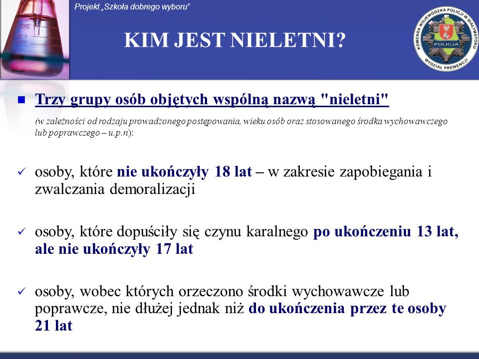 U.P.N.- DEMORALIZACJA słownik j.