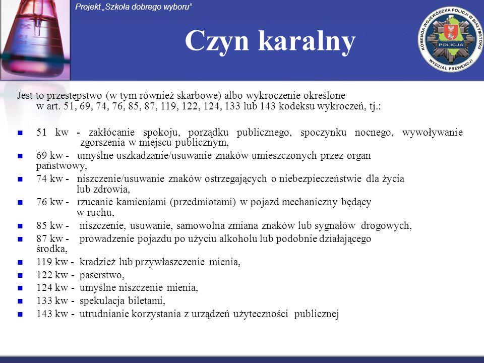 PRZESTĘPCZOŚĆ NARKOTYKOWA (statystyka policyjna) Projekt Szkoła dobrego wyboru 2007 r.2008 r.2009 r.2010 r.2011 r.