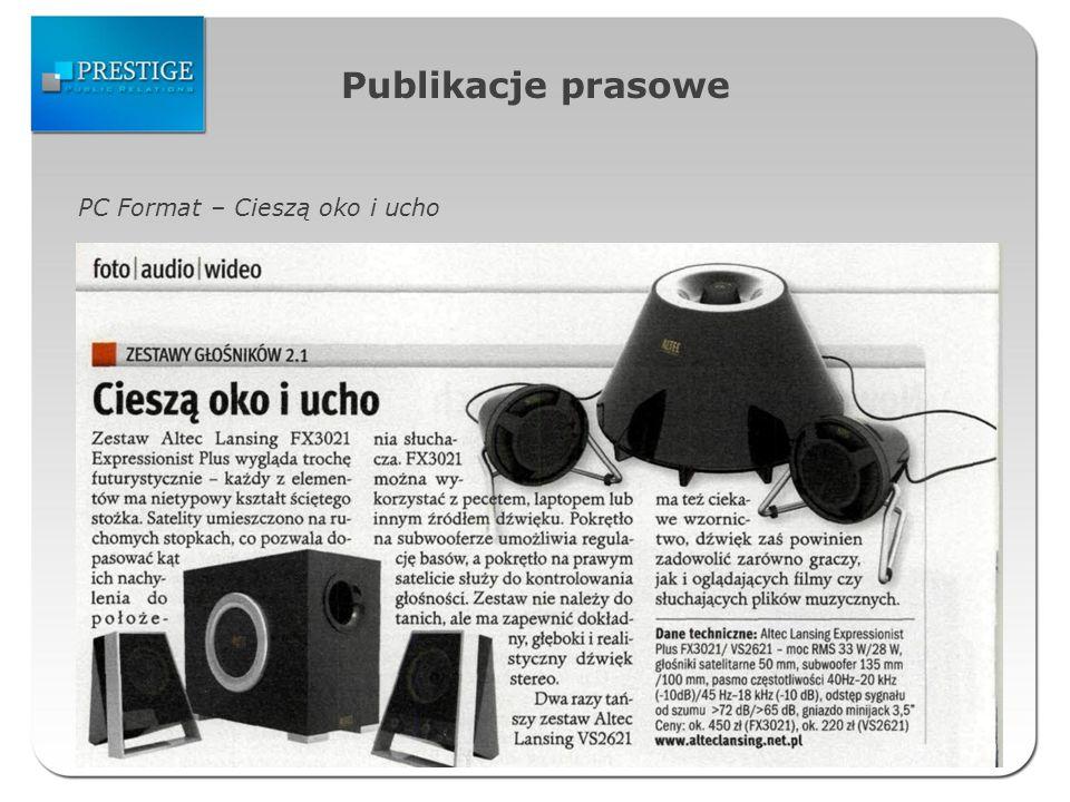 Publikacje prasowe PC Format – Cieszą oko i ucho