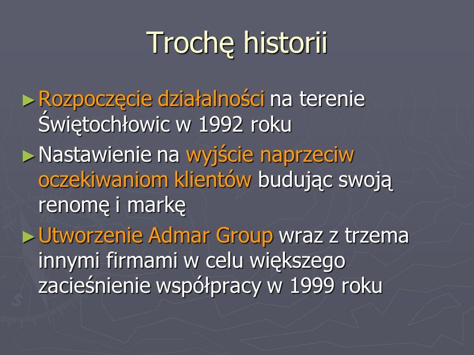Trochę historii Rozpoczęcie działalności na terenie Świętochłowic w 1992 roku Rozpoczęcie działalności na terenie Świętochłowic w 1992 roku Nastawieni