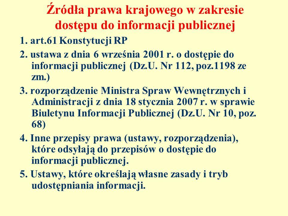 Ograniczenia w dostępie do informacji publicznej – tajemnica przedsiębiorcy Sytuacje, gdy podmiot objęty zakresem stosowania u.d.i.p.