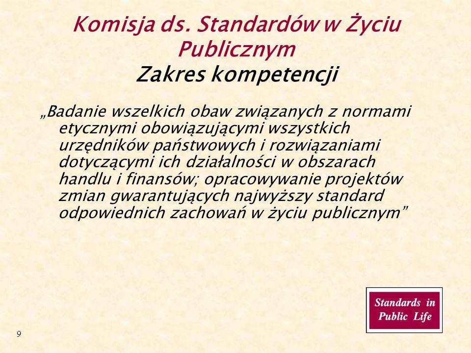 20 Komisja ds.