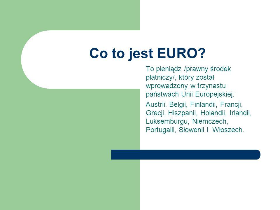 Co to jest EURO.