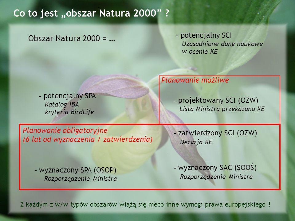 Co to jest obszar Natura 2000 .