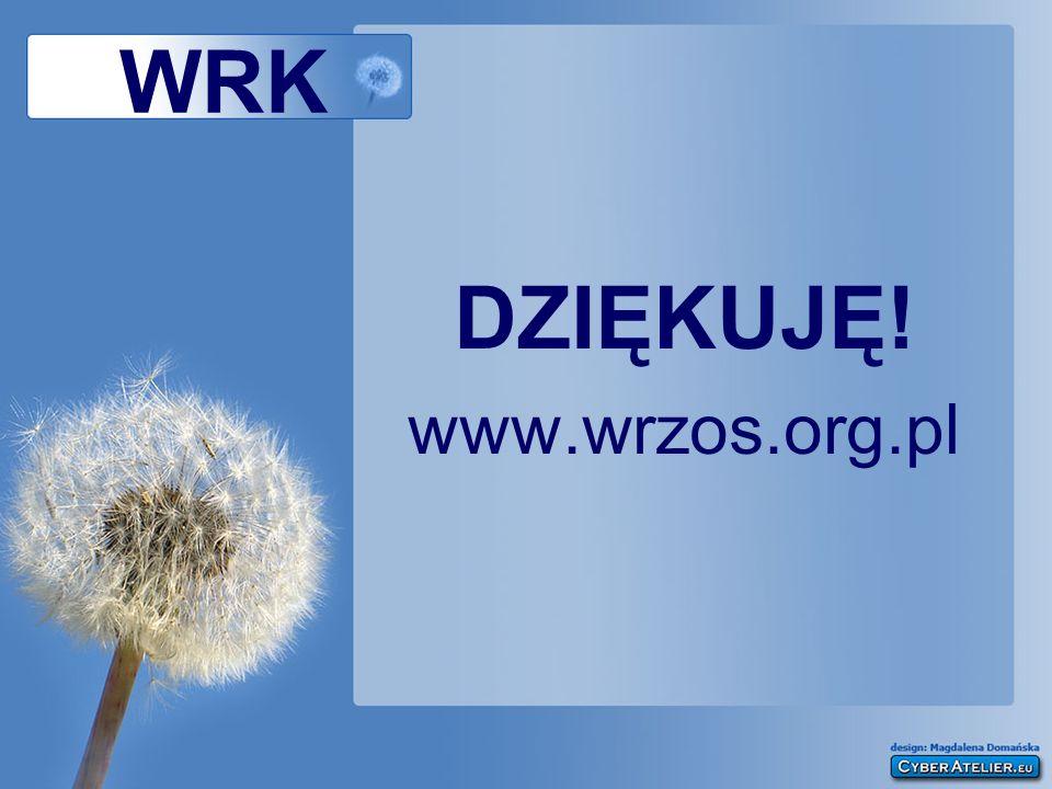 WRK DZIĘKUJĘ! www.wrzos.org.pl