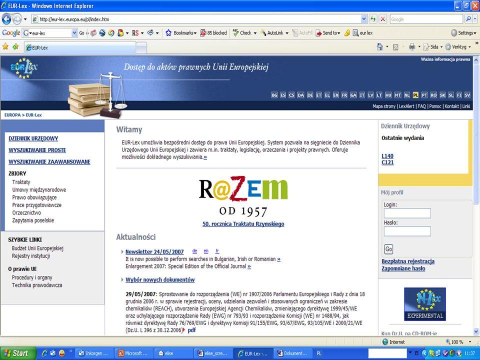 07-11-17Krzysztof Szczurek - SG Rady UE28 Eur-lex – prawodawstwo UE w sieci