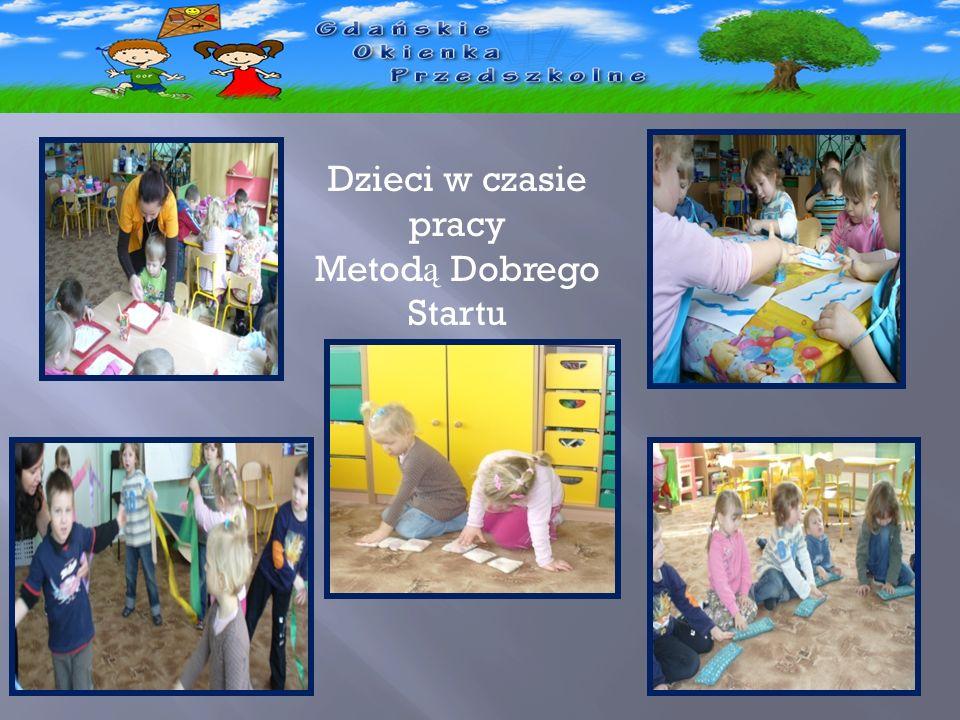 - Dzieci w czasie pracy Metod ą Dobrego Startu