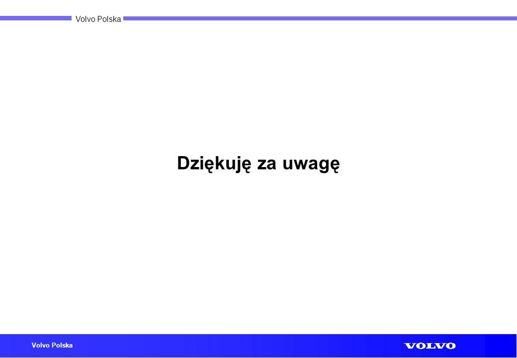 Volvo Polska Dziękuję za uwagę