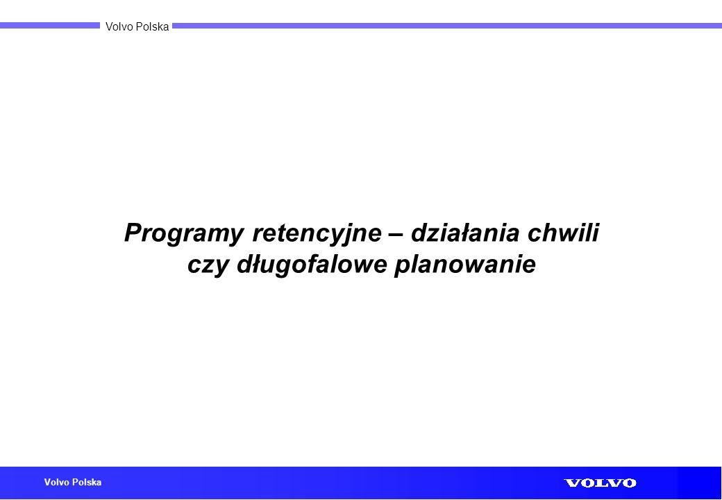 Volvo Polska Programy retencyjne – działania chwili czy długofalowe planowanie