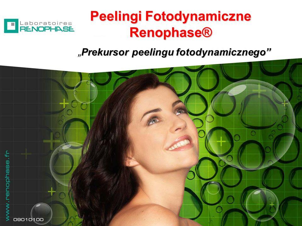 Peelingi Fotodynamiczne Renophase® Prekursor peelingu fotodynamicznegoPrekursor peelingu fotodynamicznego