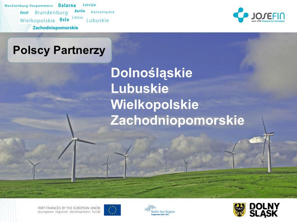 Dolnośląskie Lubuskie Wielkopolskie Zachodniopomorskie Polscy Partnerzy