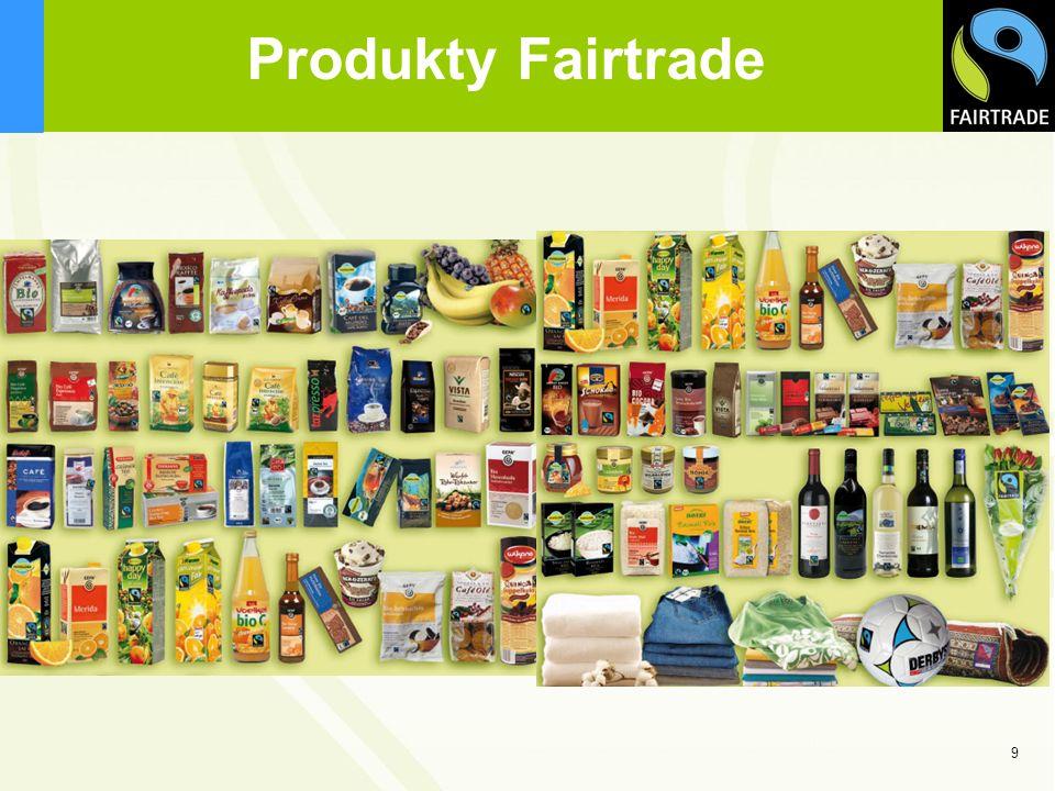 9 Produkty Fairtrade