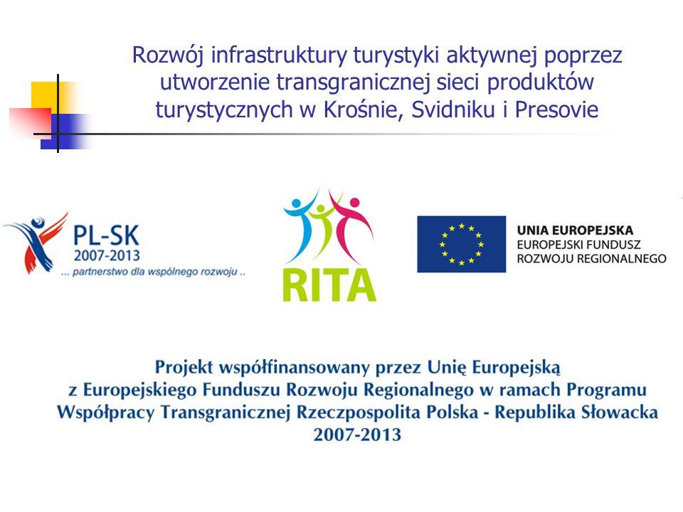 Rozwój infrastruktury turystyki aktywnej poprzez utworzenie transgranicznej sieci produktów turystycznych w Krośnie, Svidniku i Presovie