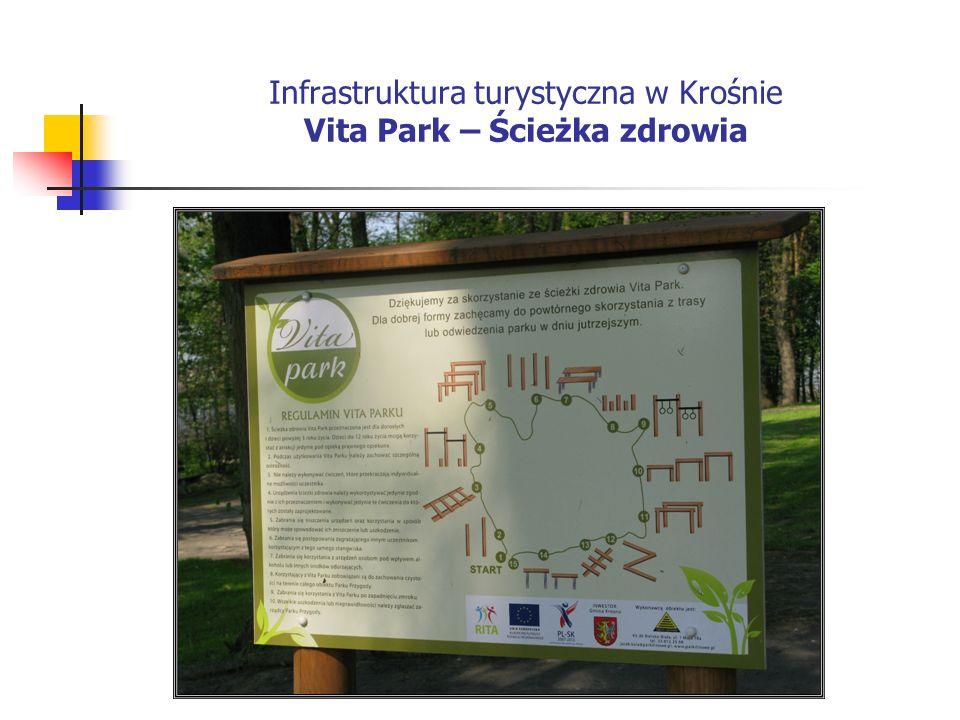 Infrastruktura turystyczna w Krośnie Vita Park – Ścieżka zdrowia