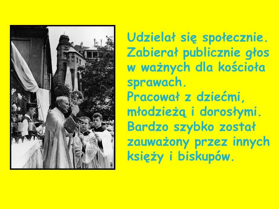 Gdy miał 38 lat został wybrany najmłodszym biskupem w Polsce