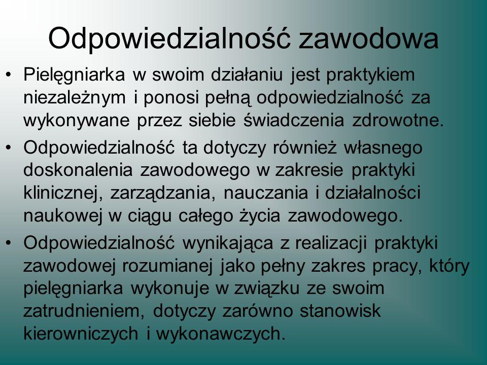 Naczelny Rzecznik Odpowiedzialności Zawodowej Zgodnie z Art.26 ustawy o samorządzie pielęgniarek i położnych z dnia 1 lipca 2011 roku (Dz.U.