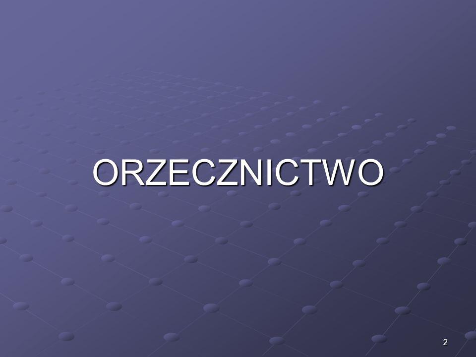2 ORZECZNICTWO