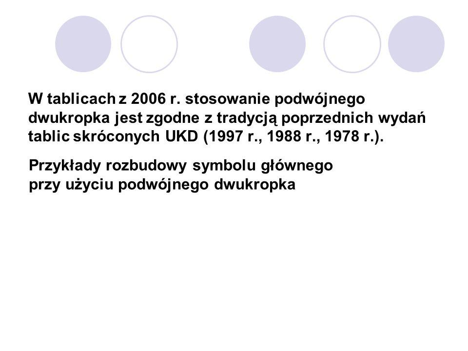 W tablicach z 2006 r.
