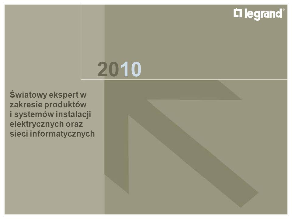 LEGRAND IN 2009 GRUPA LEGRAND Legrand podbija świat 1996: wprowadzenie nowych produktów skierowanych na rynek europejski Po raz pierwszy Legrand wprowadza produkty, które mają zaspokoić potrzeby całego europejskiego rynku, są to głównie produkty z linii Lexic oraz serie osprzętu instalacyjnego (włączając gamę Sistena i Suno) 12