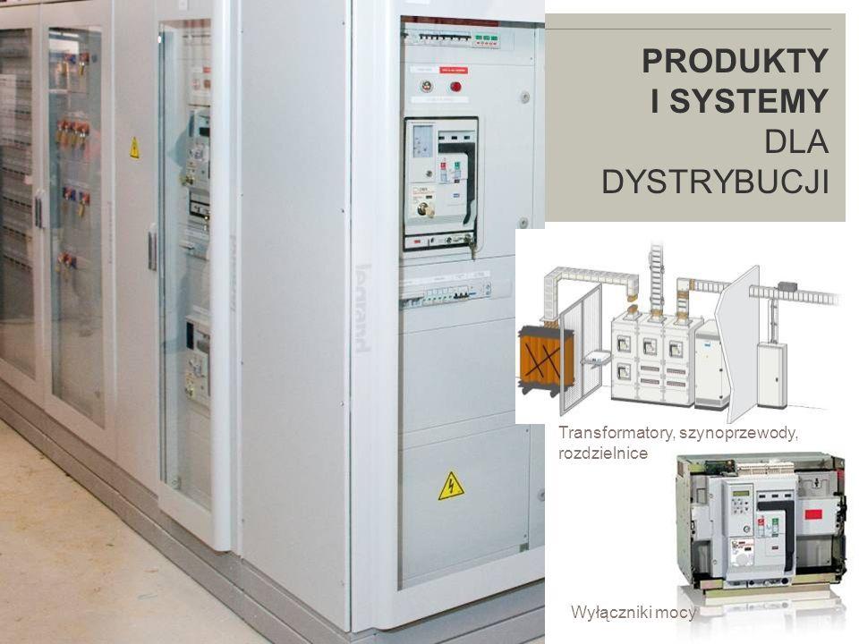 LEGRAND IN 2009 PRODUKTY I SYSTEMY DLA DYSTRYBUCJI Wyłączniki mocy Transformatory, szynoprzewody, rozdzielnice