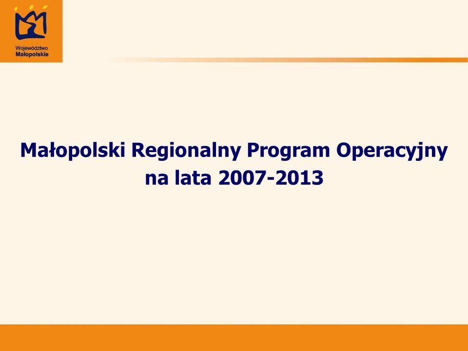 Program Operacyjny Infrastruktura i Środowisko na lata 2007-2013