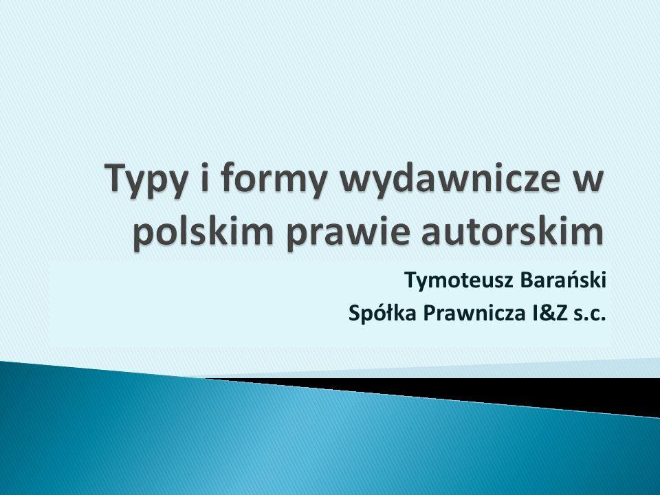 Tymoteusz Barański Spółka Prawnicza I&Z s.c.