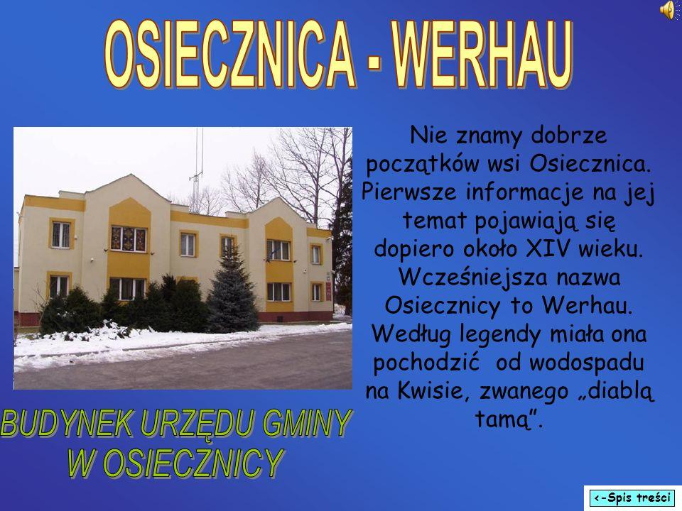Nie znamy dobrze początków wsi Osiecznica. Pierwsze informacje na jej temat pojawiają się dopiero około XIV wieku. Wcześniejsza nazwa Osiecznicy to We