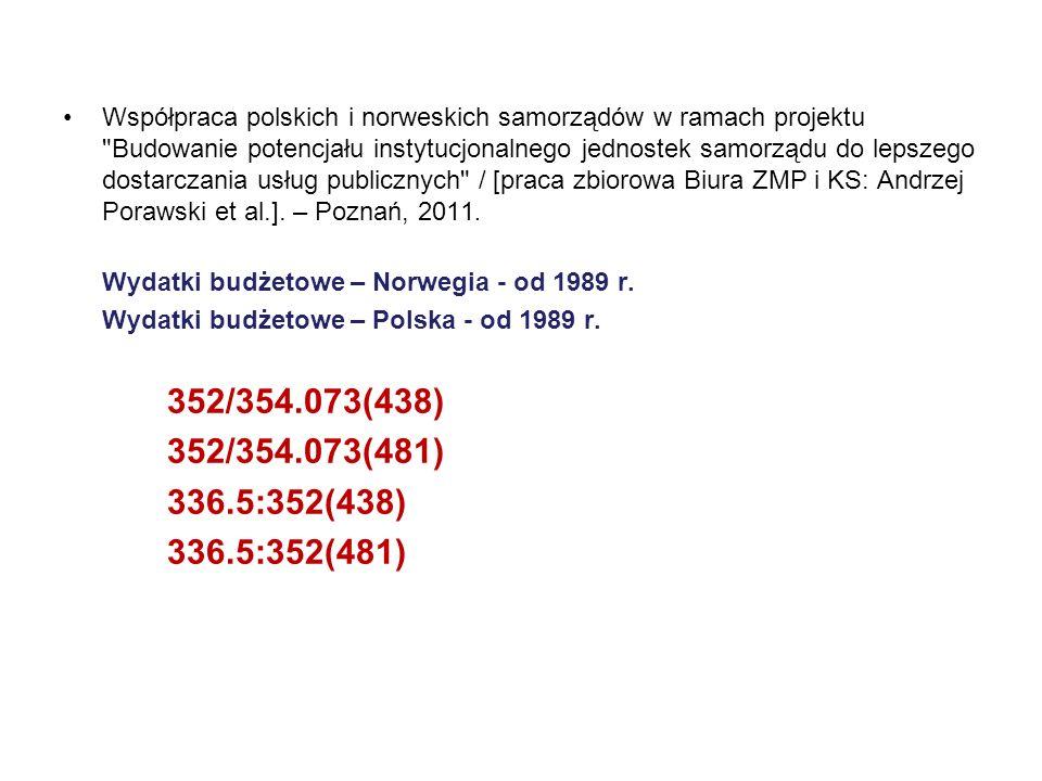 Współpraca polskich i norweskich samorządów w ramach projektu