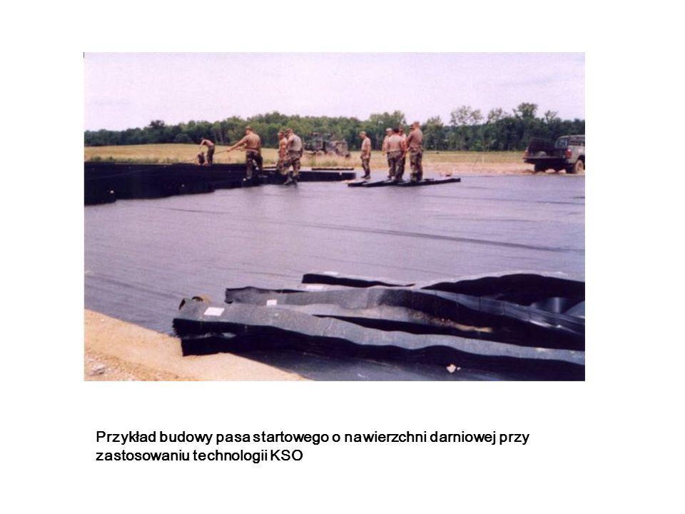 Przykład budowy pasa startowego o nawierzchni darniowej przy zastosowaniu technologii KSO
