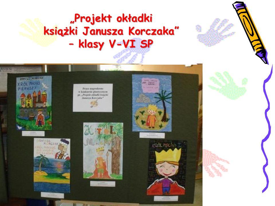 Projekt okładki książki Janusza Korczaka – klasy V-VI SP